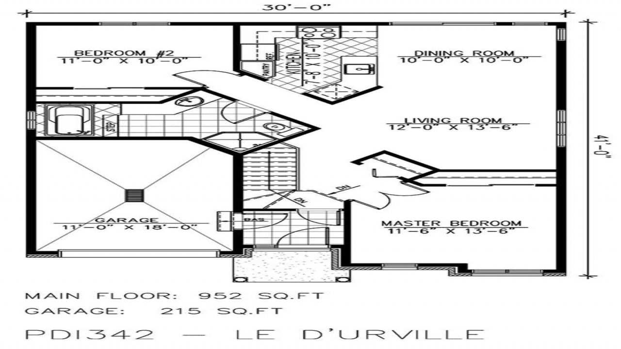 Small Bungalow House Floor Plans Small Bungalow Houses