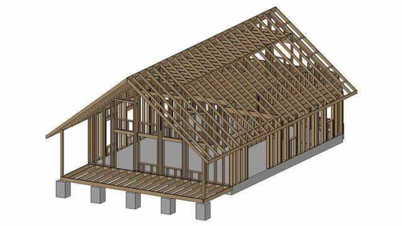 Small cabin plans free online free small cabin plans with for Free small cabin plans with material list
