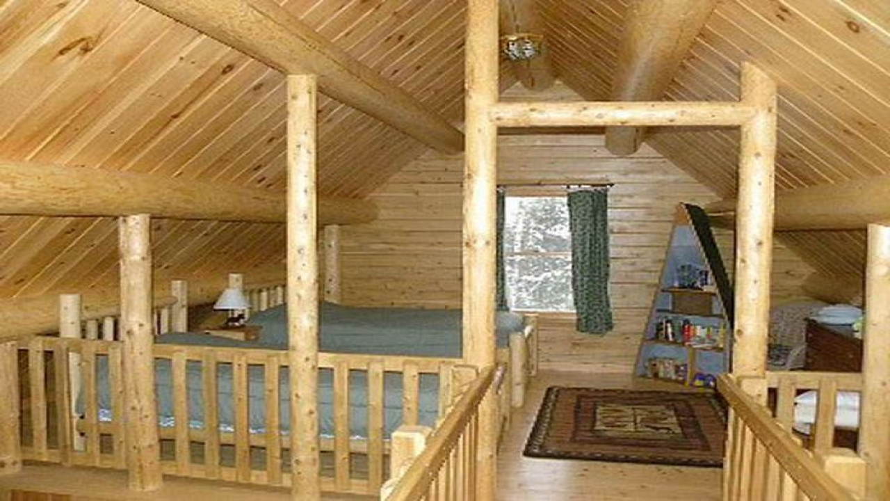 Small Cabin Plans With Loft Simple Cabin Plans With Loft