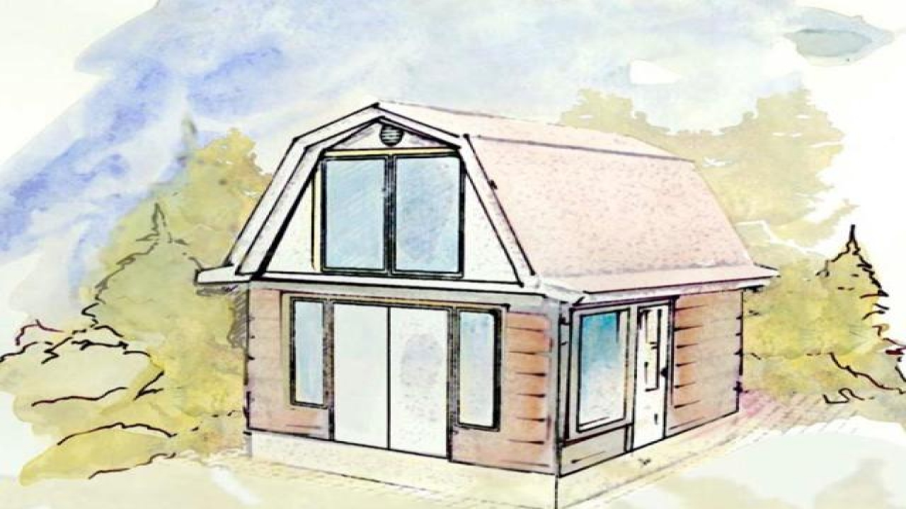 Tiny a frame cabin plans tiny cabin plans under 200 sq ft for 600 sq ft cabin kits