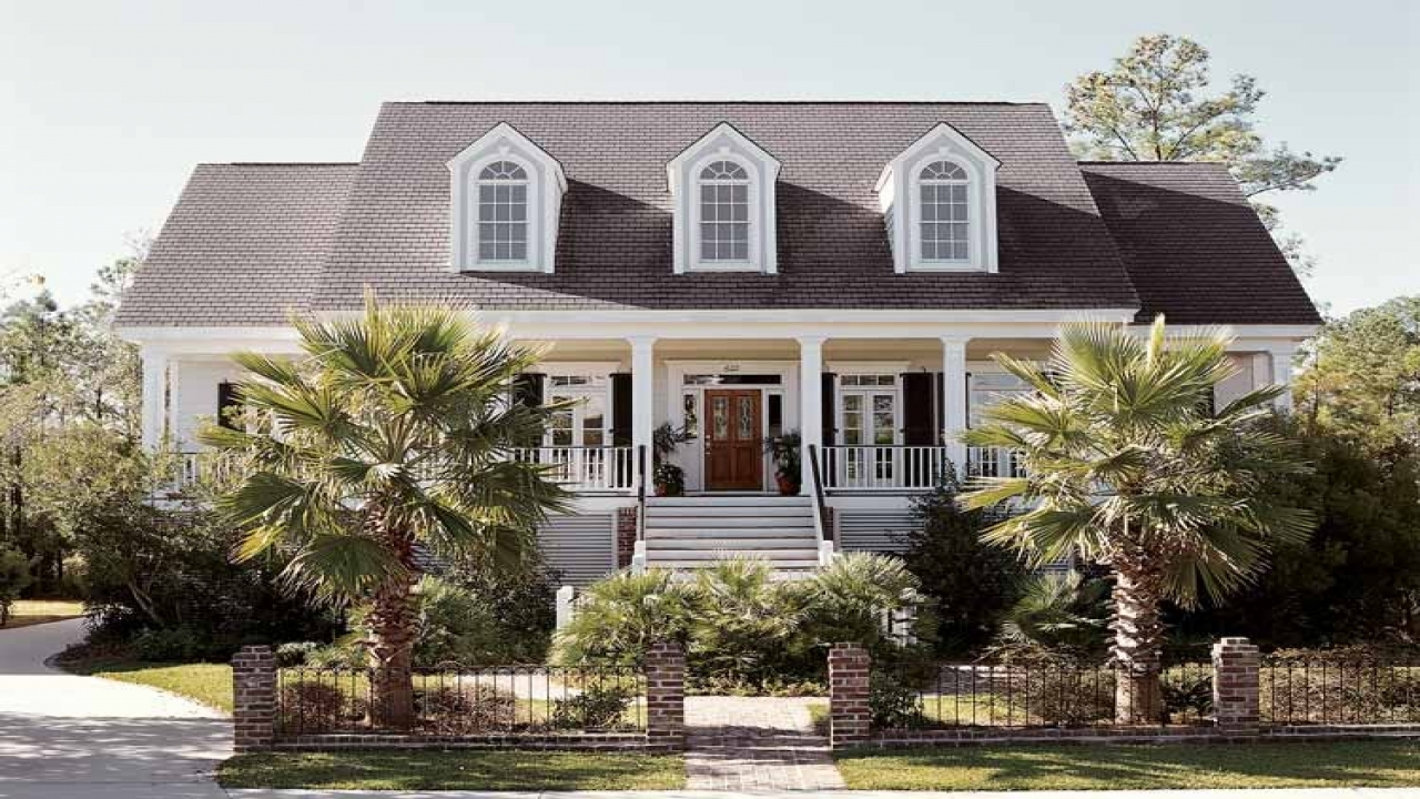 Vintage lowcountry house plan low country house floor for Low country house plans with porches