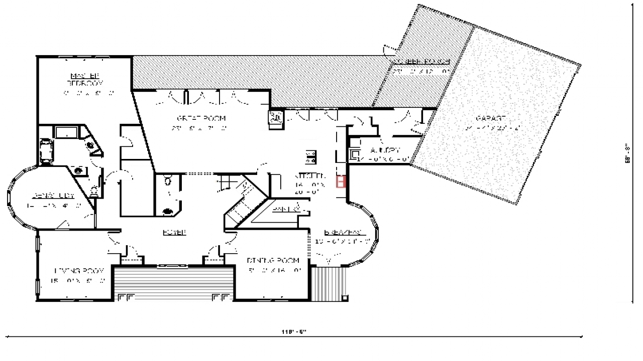 4 bedroom house floor plans intelligent house plans floor for 4 bedroom 3d house plans