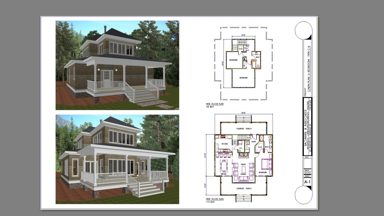 Portable 2 Bedroom House : Bedroom cabin plans for portable cabins and homes