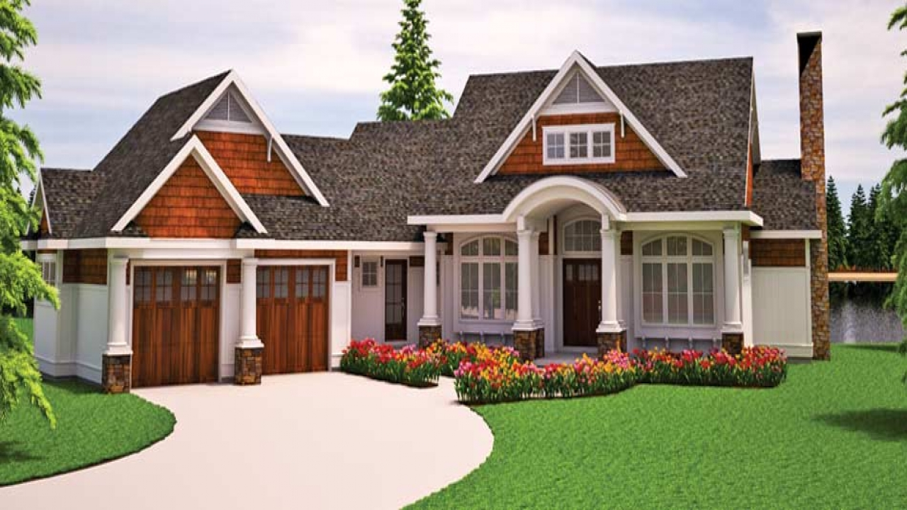 House Design Ideas >> Craftsman Bungalow Cottage House Plans Small Craftsman Bungalow, energy efficient cottage plans ...