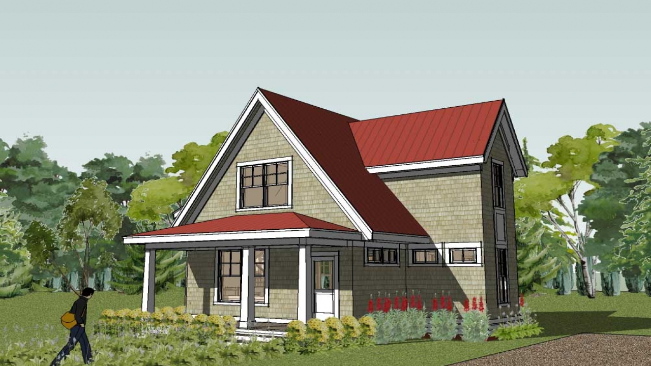 Small Cottage Designs: Economical Small Cottage House Plans Small Cottage House