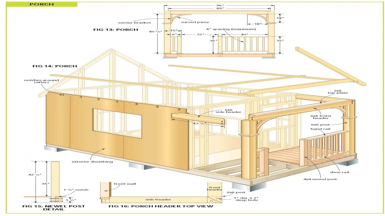 Free Cabin Plans Free Cabin Plans With Loft Cabin With