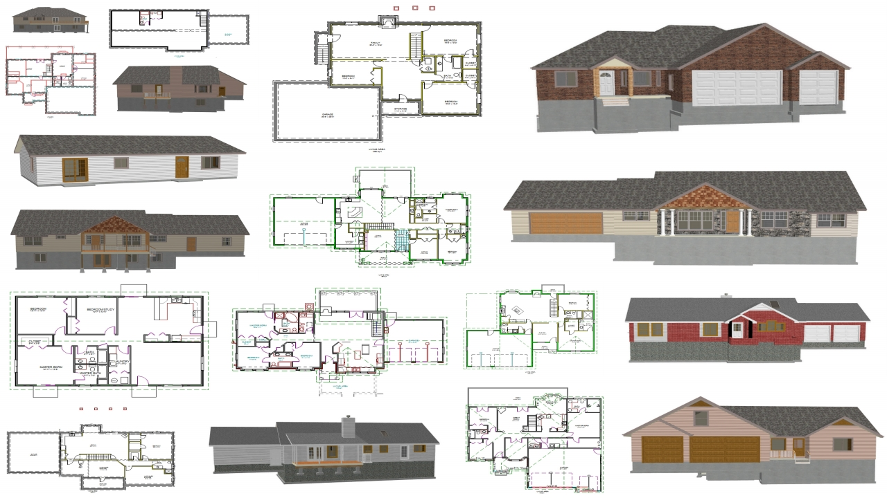 This is a picture of Simplicity Printable House Plan