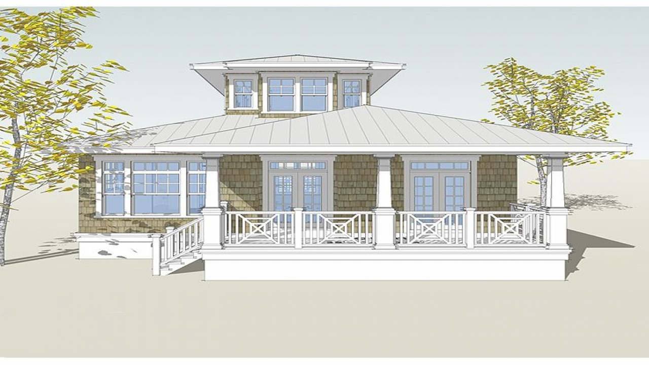 Reverse living floor plans beach superb floor plans beach for Reverse living beach house plans