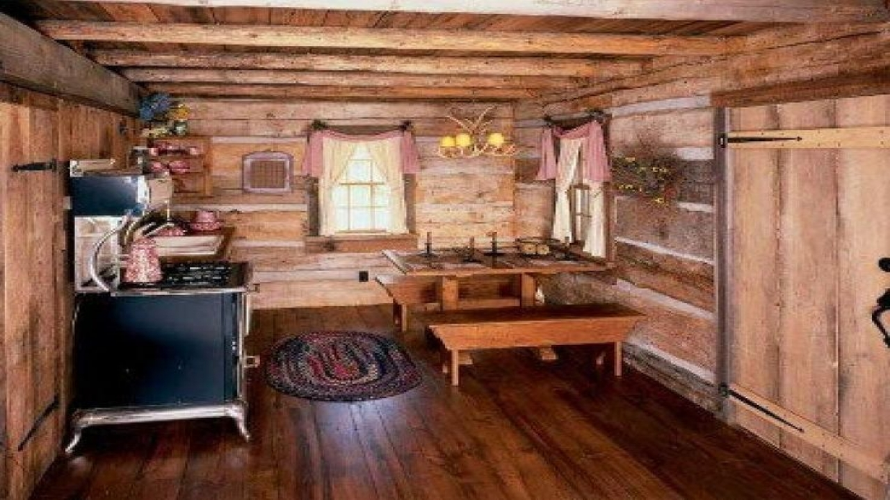 Rustic Log Home Decor: Rustic Home Furnishings For Cabins Small Rustic Cabin