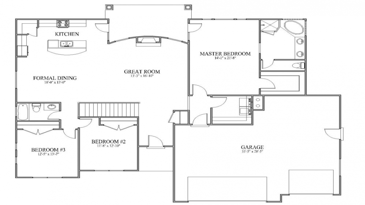 house floor plans simple house plans with open floor plan simple affordable 11209