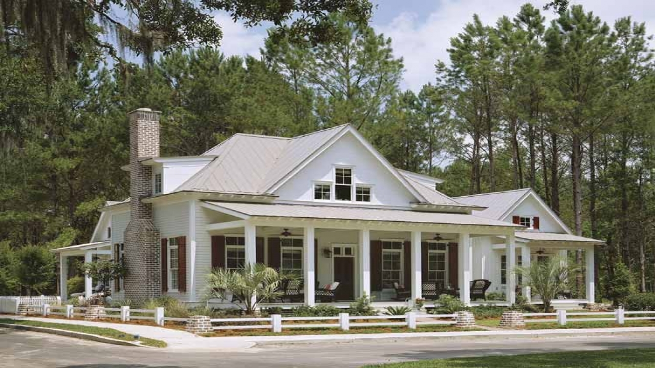 Southern Country House Southern Country Cottage House