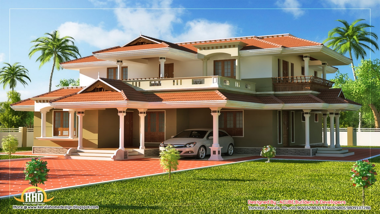 Sunland houses inside 2 story beautiful house kerala style - Kerala home designs photos in double floor ...