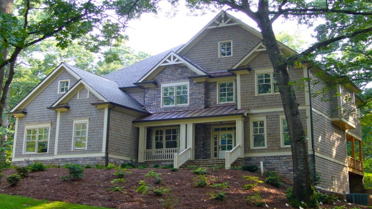 2 story craftsman house plans two story craftsman style for Traditional craftsman house plans