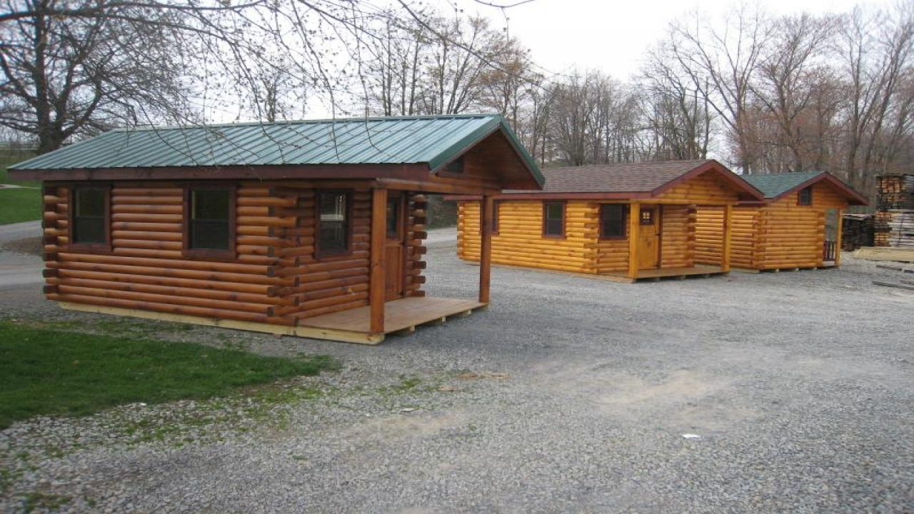 Amish Small Log Cabins Inside A Small Log Cabins Hunting