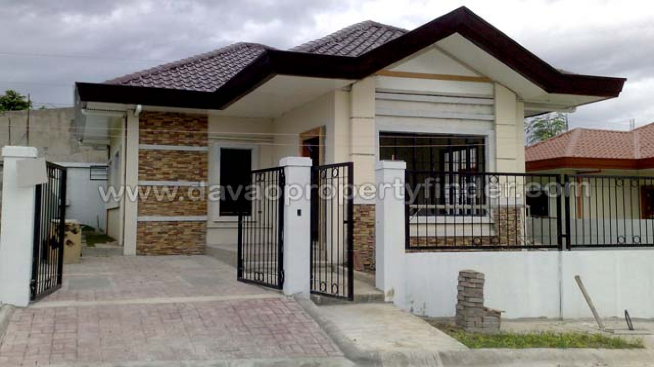 Modern House Design Exterior Philippines Bungalow
