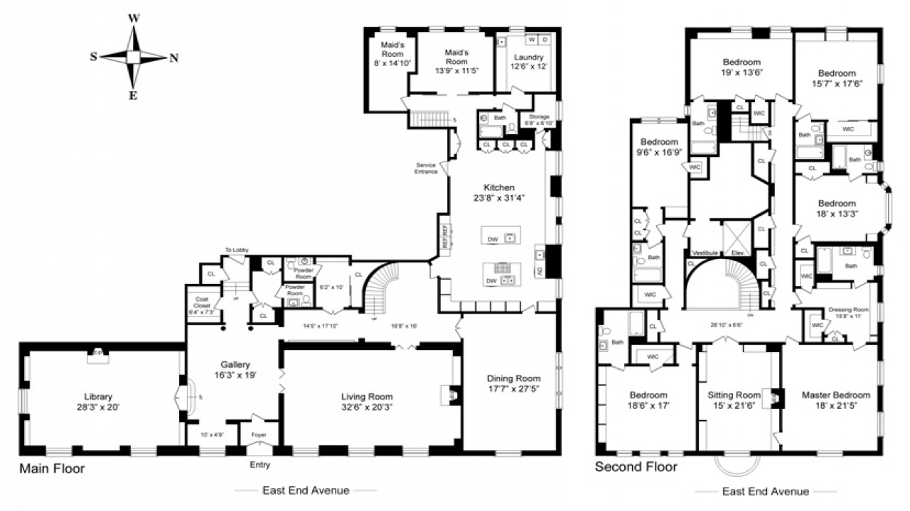 housing blueprints floor plans castle house plans mansion house plans 8 bedrooms 8 18569