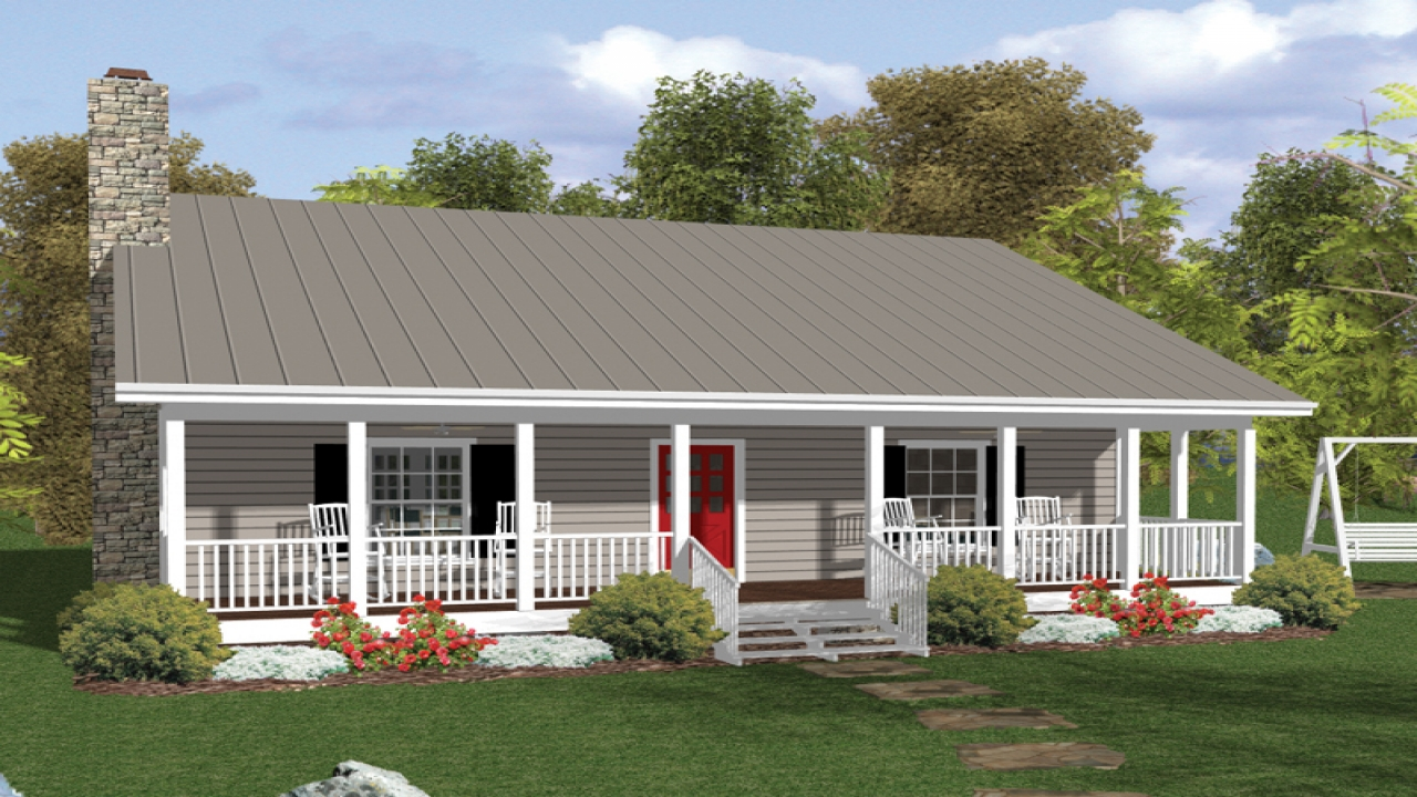 Country House Plans with Porches Country House Plans with Front Porch country cabin floor plans