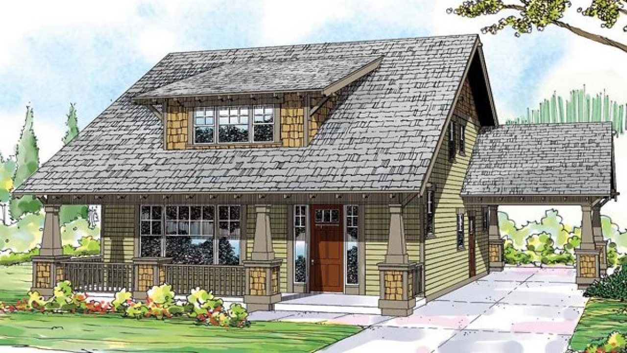 Craftsman bungalow cottage house plans small craftsman for Small craftsman home designs
