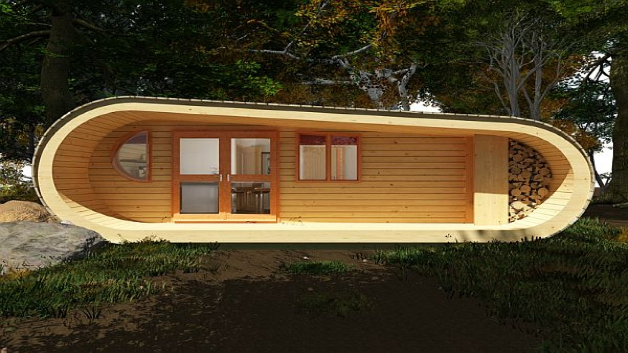 Eco perch tree house eco house kits eco cabin plans for Eco home kits