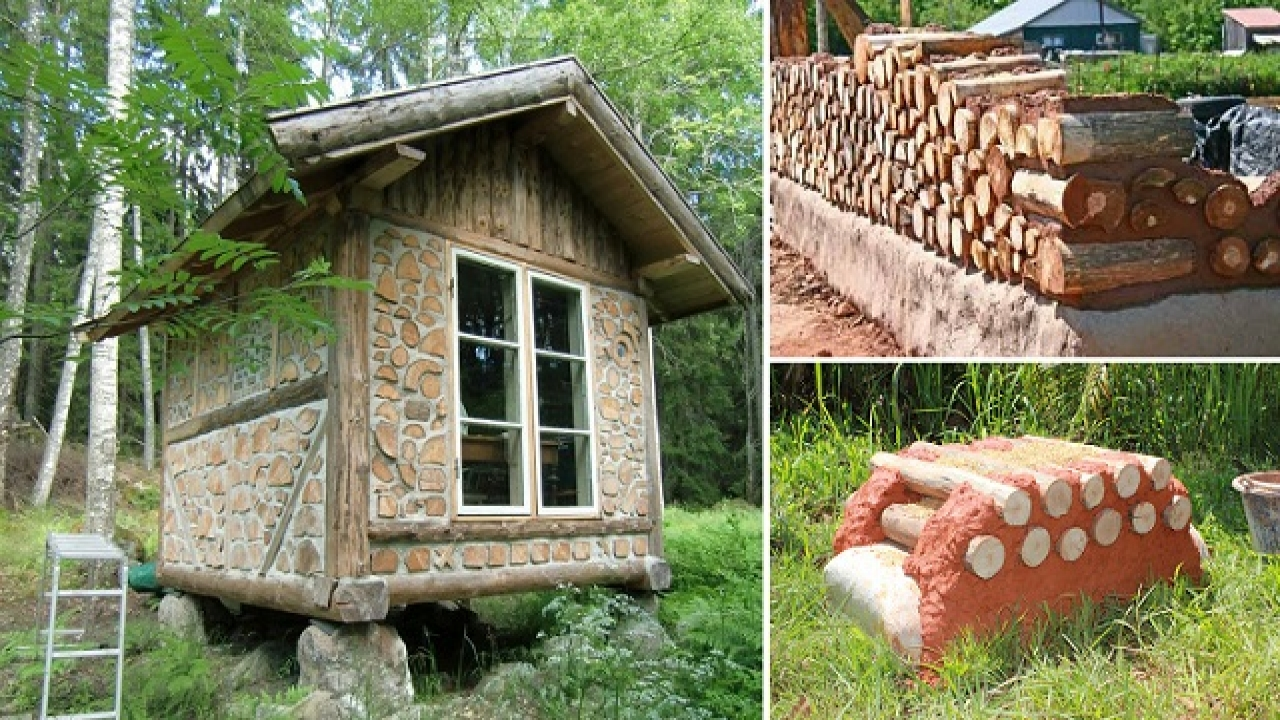 Do It Yourself Home Design: How To Build A Glider How To Build A Log Cabin Yourself