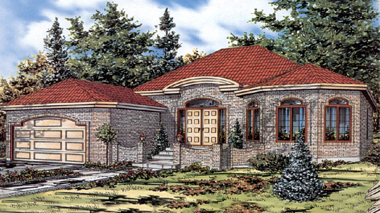 Luxury bungalow house plans image search results craftsman for Luxury bungalow designs