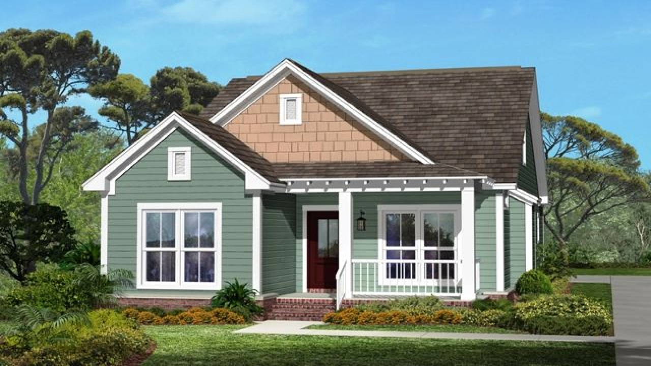 One story craftsman style house small craftsman style for One story bungalow style house plans