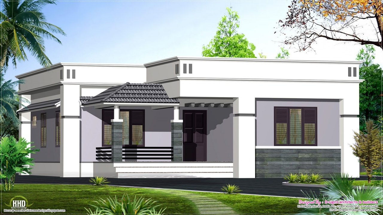 Small house designs single floor house designs small for Small one level house plans