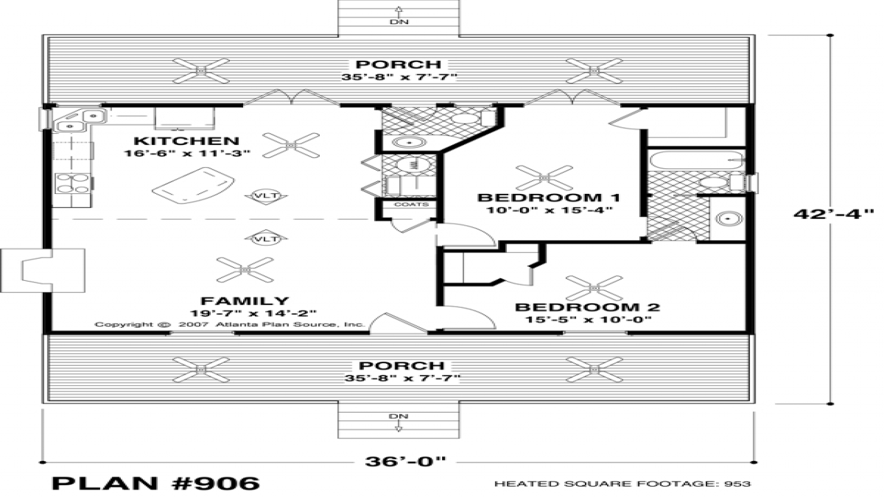 Small house floor plans under 500 sq ft small ranch house for Very small home plans