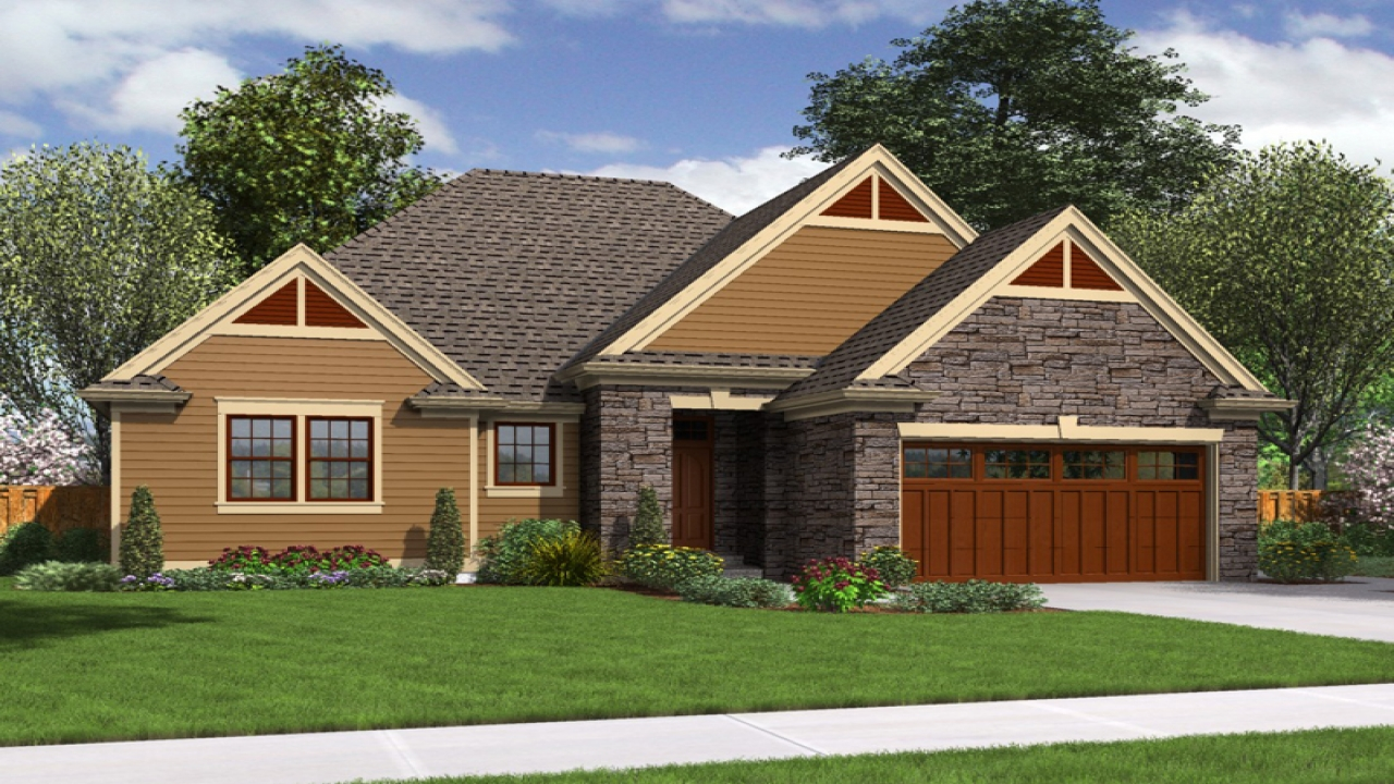 Small modern cottages small cottage style house plans big for Big bungalow house plans