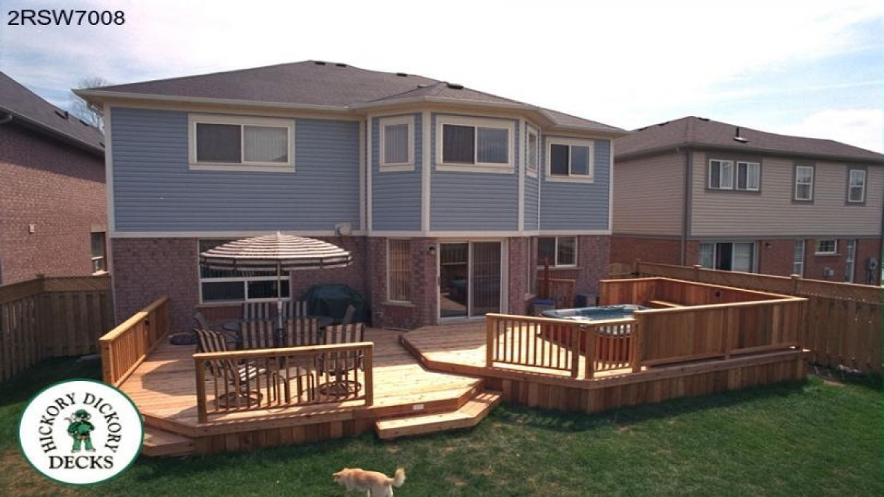 Two Level Deck Designs Plans Multi Level Deck Design Ideas