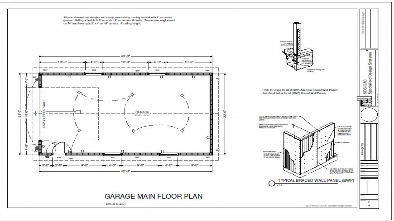 60 40 Floor Plans: 40 X 40 Building Designs 40 X 60 Garage Plans, Cabin