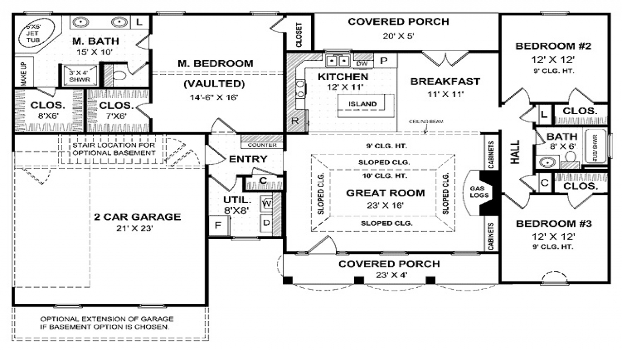 Best one story house plans small one story house plans for Best ranch house plans 2016