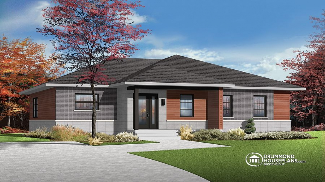 Contemporary bungalow house plans simple bungalow house for Craftsman style homes in okc