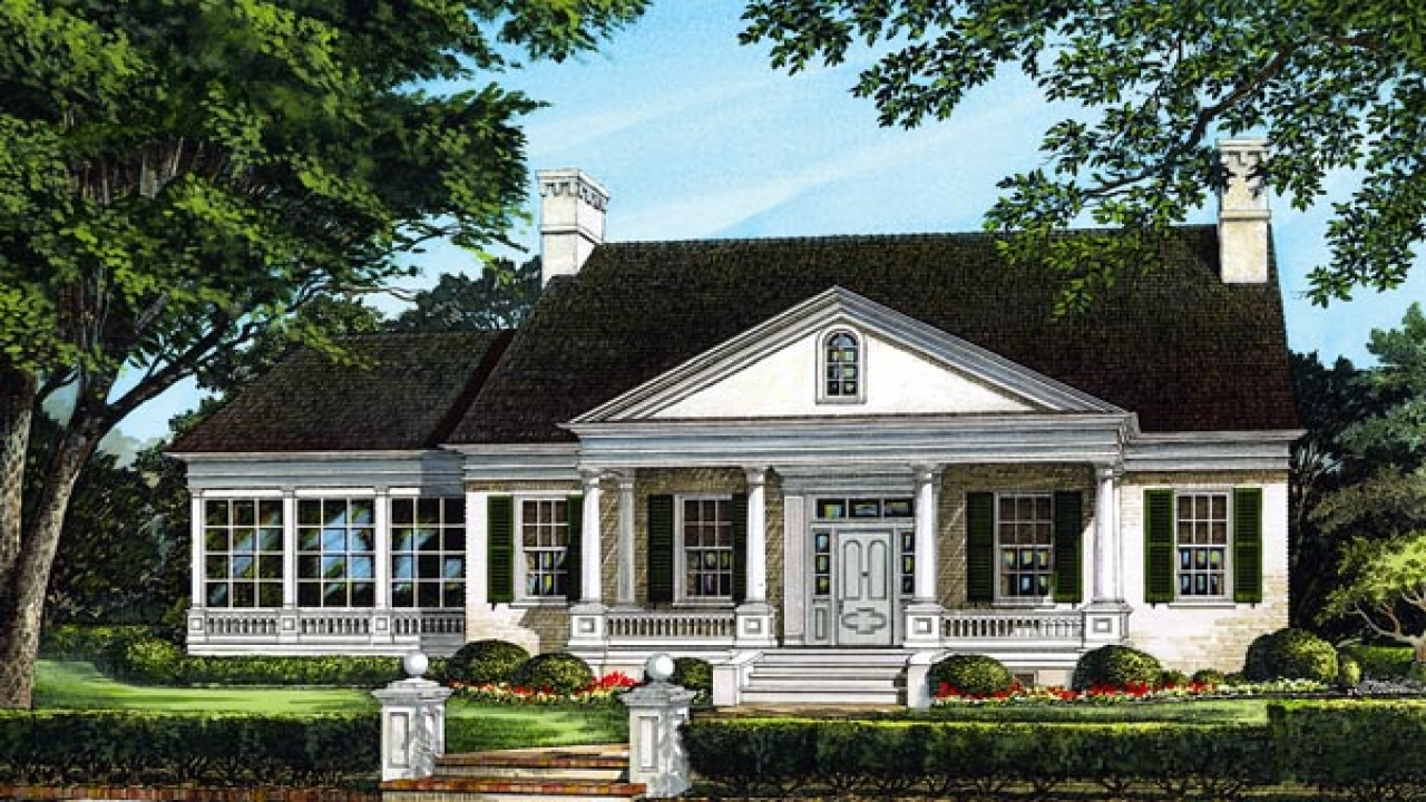 Front sloping lot house plans lakefront homes house plans for Waterfront home plans sloping lots