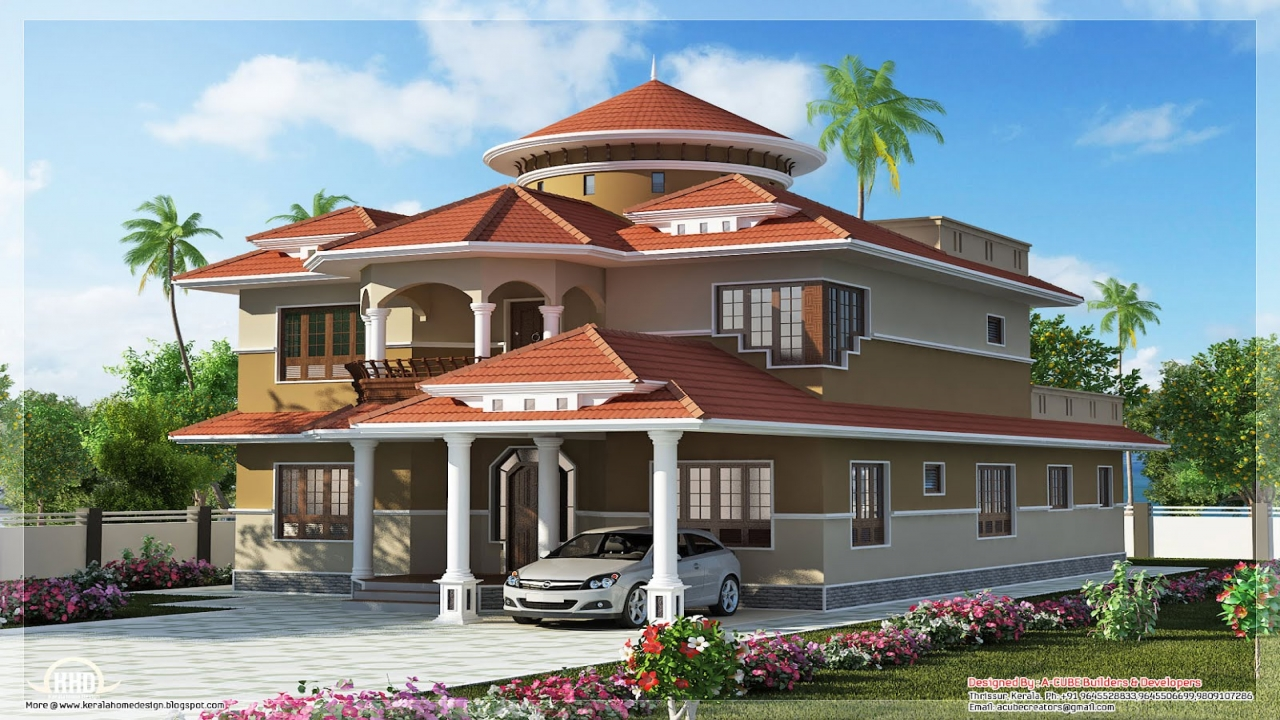 Futuristic house design dream home dream home house design for Dream home design