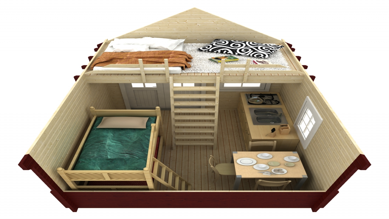 How Far Is 100 Yards 100 Sqft Back Yard Bunkie Cabin With