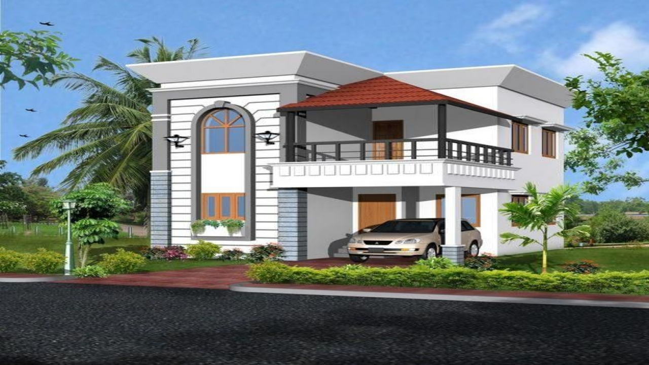 India duplex house design modern duplex house designs for Duplex home design india