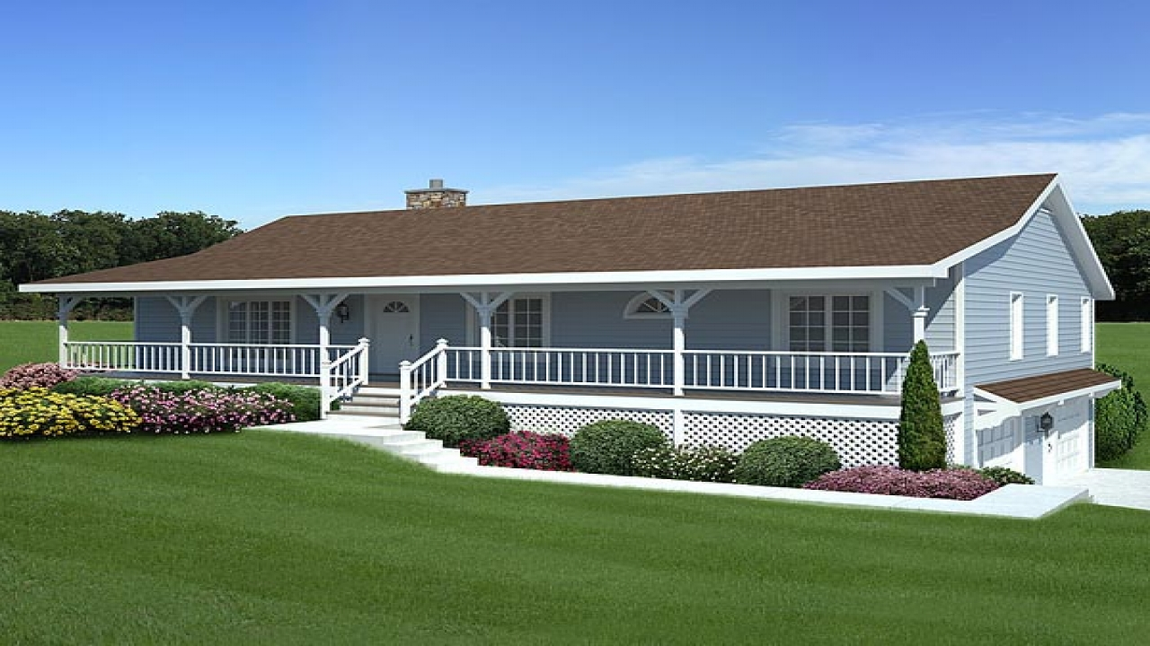 ranch house single floor plans, ranch house with garage, ranch house plans with dual master bedroom suites, small homes with two master suites, on raised ranch house plans with two master suites