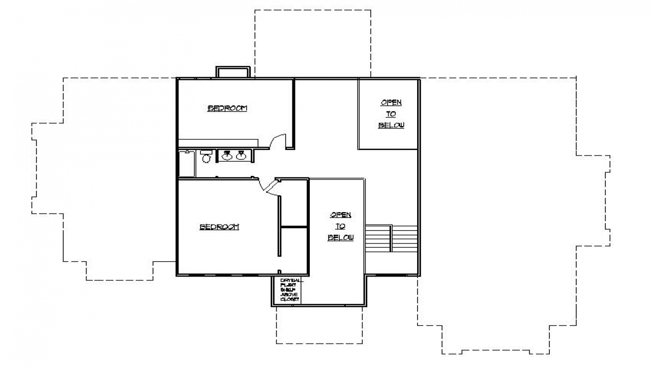Second story addition ideas second story house additions for Addition floor plans