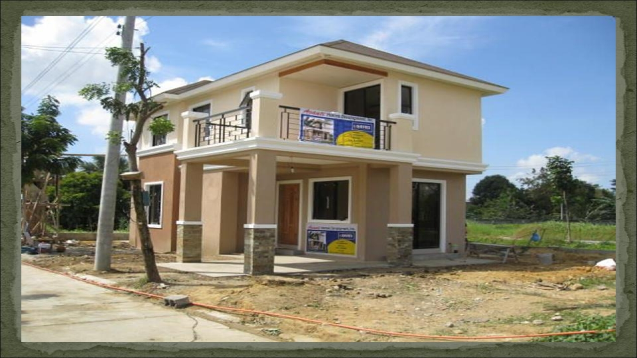 Simple house designs philippines cheap house design for Cheapest 2 story house to build