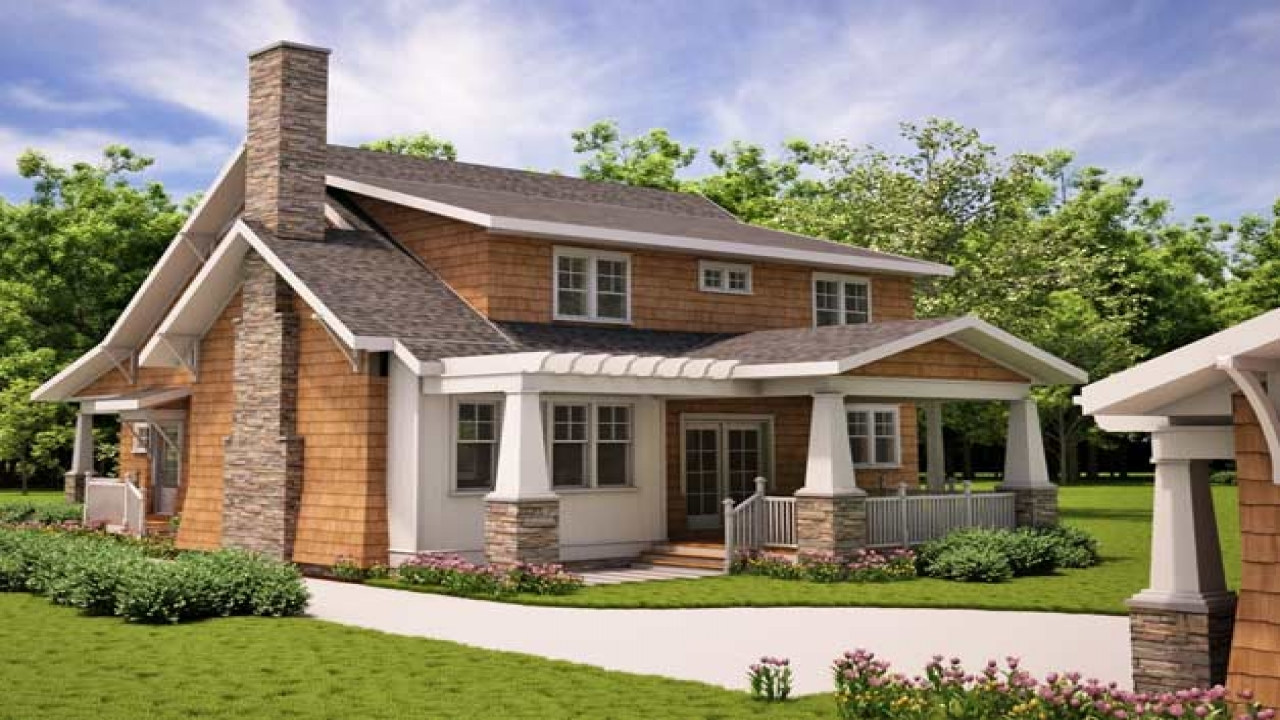 Arts and crafts bathrooms arts and crafts bungalow house for Arts and crafts floor plans