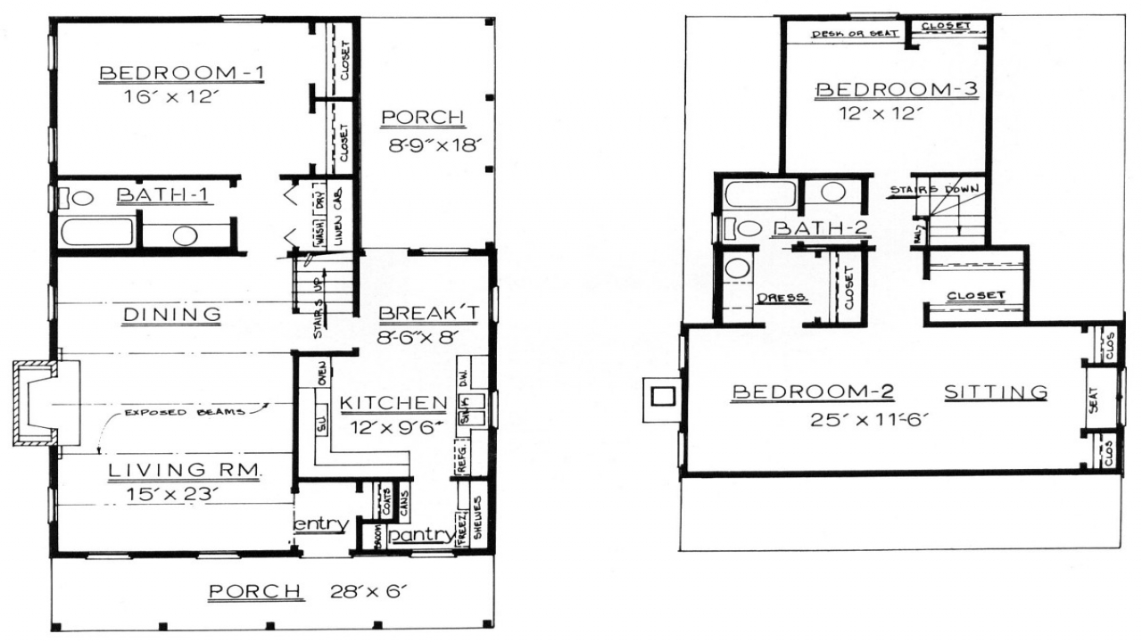 Basic cabin house plans basic log cabin basic log cabin for Basic log cabin plans