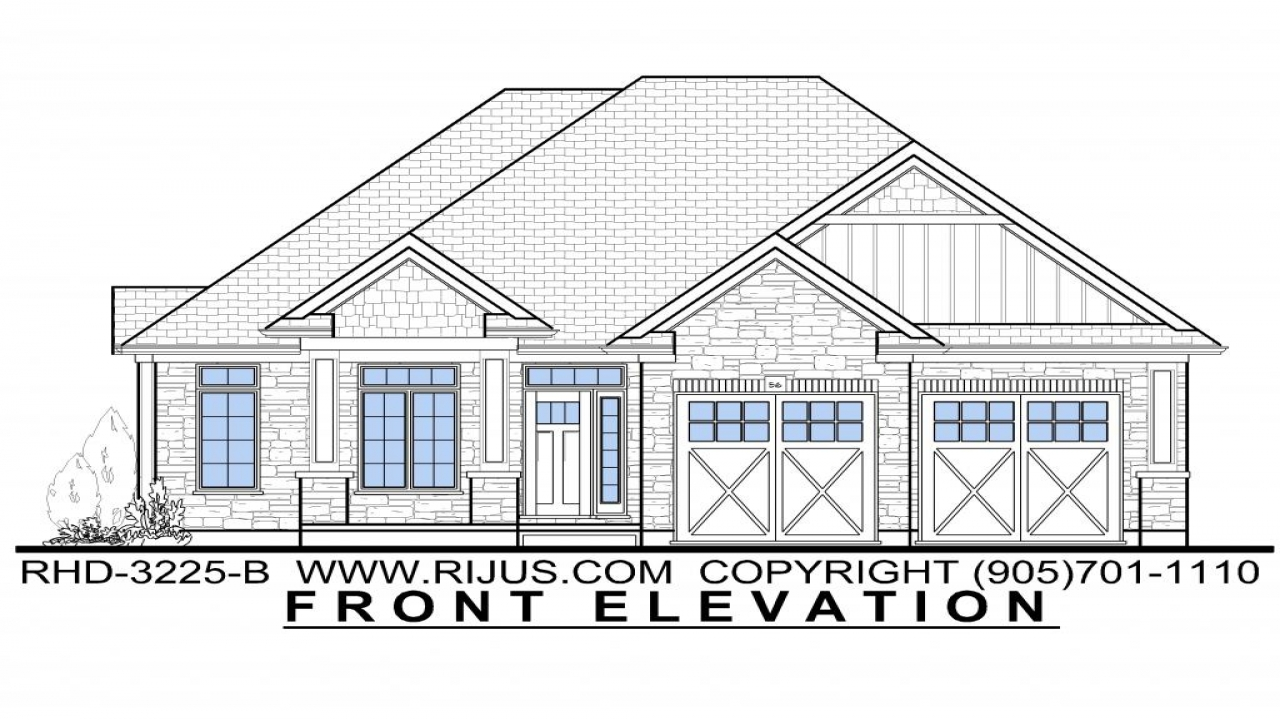 Bungalow Home Plans And Designs Canadian Bungalow House