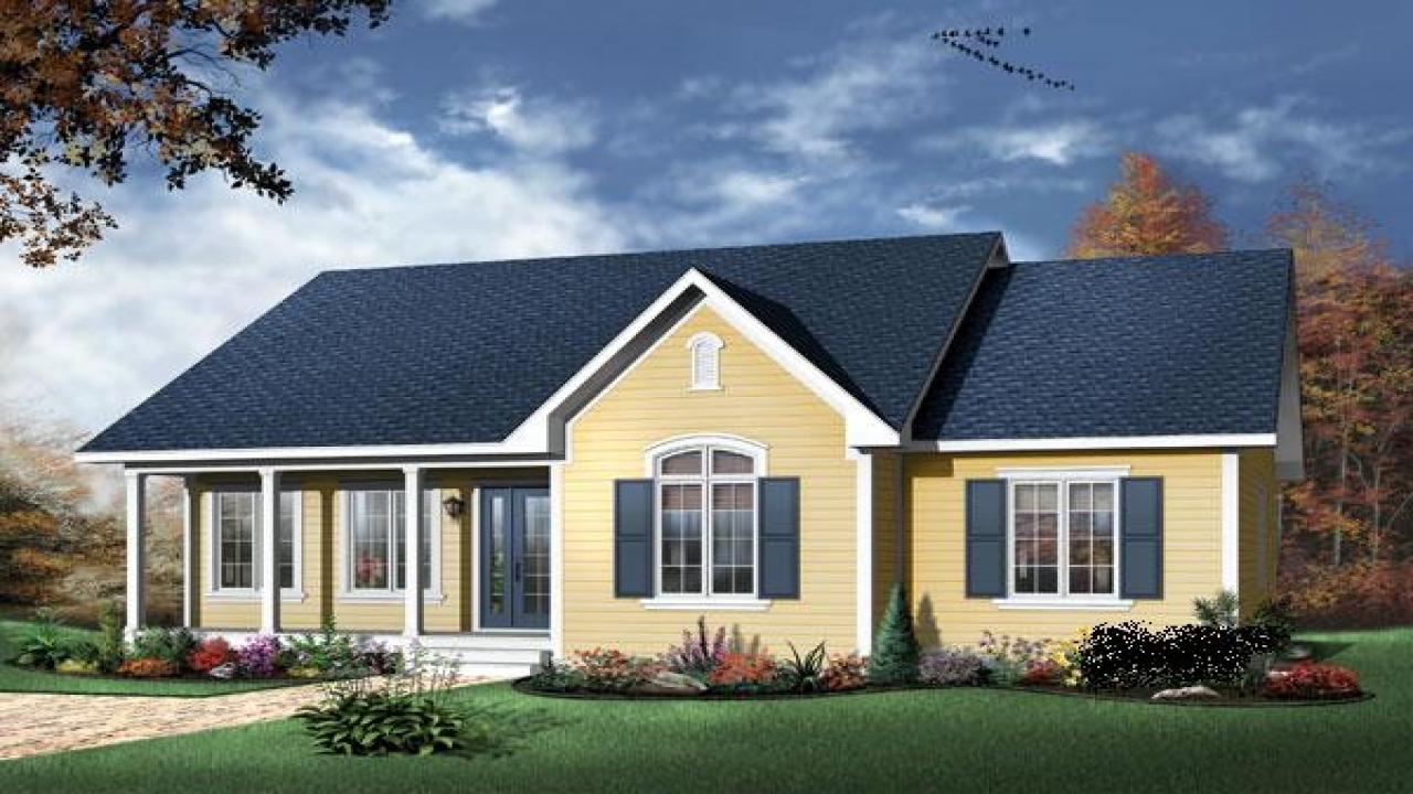 Bungalow style house plan large bungalow house plans - What is a bungalow house ...