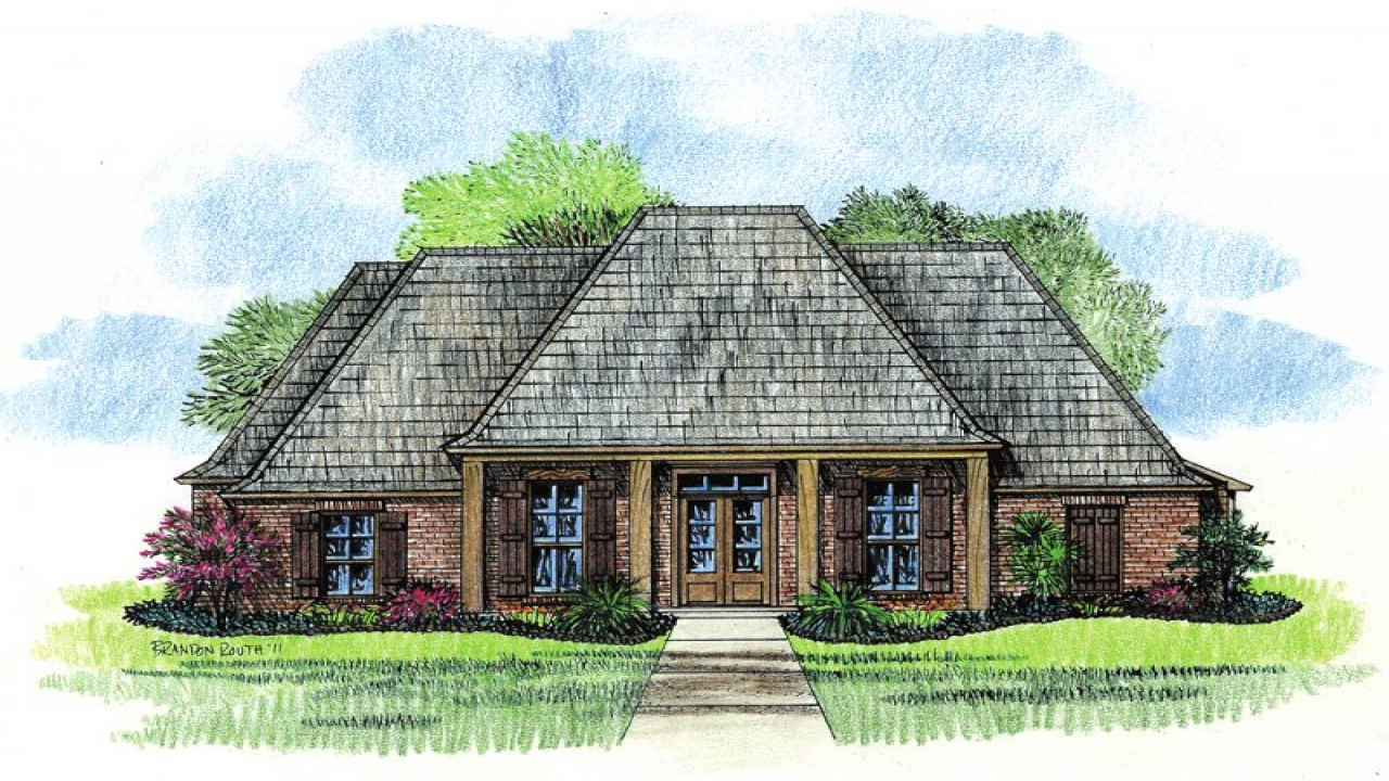 French country house plans country house plans with for French country ranch home plans