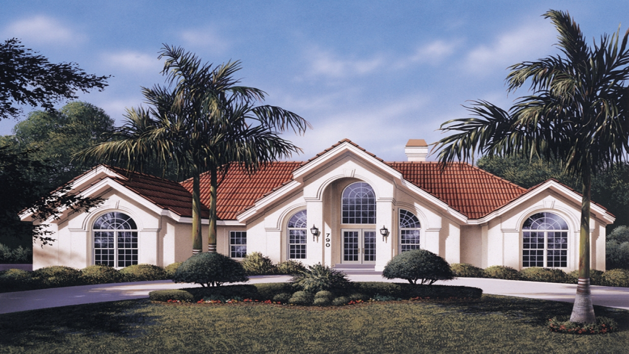 House Plans With Atrium Windows Atrium Ranch House Plans