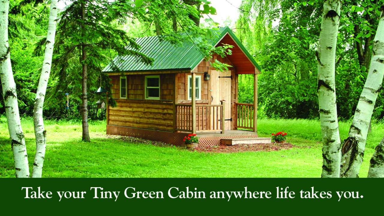 Little Cabins Tiny Green Cabins Floor Plans Green Cabin