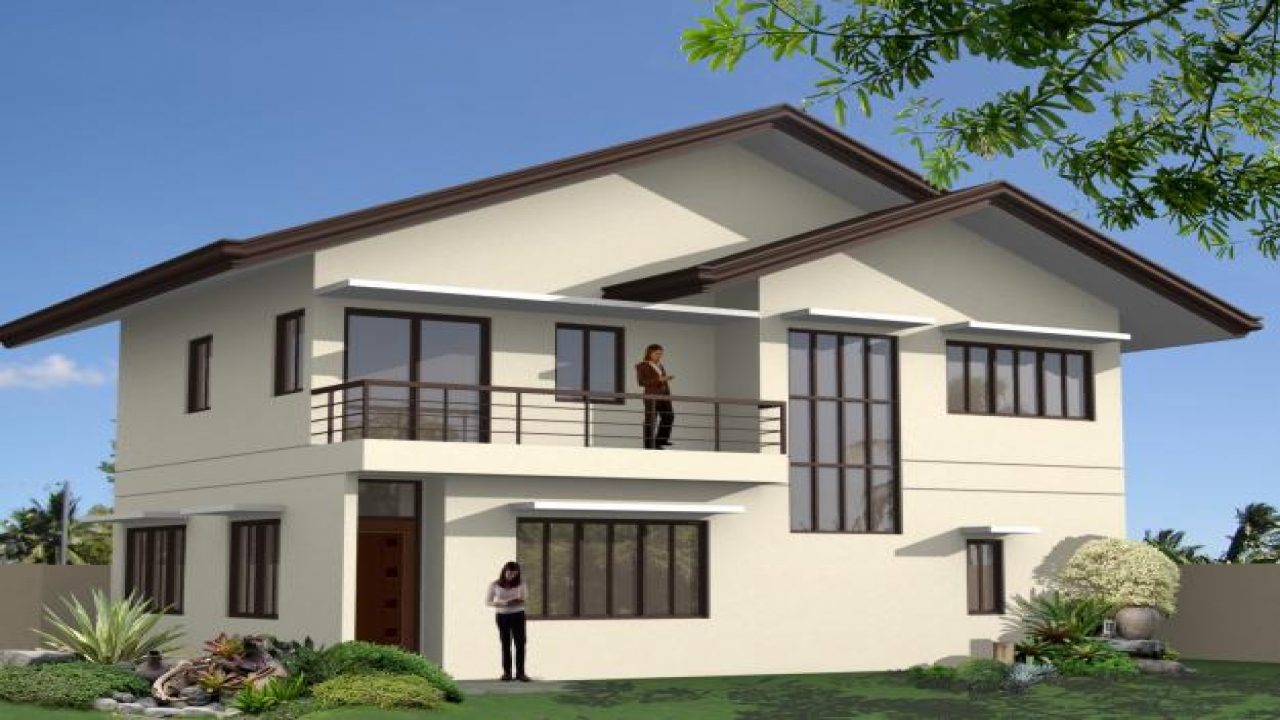 Modern house plans designs philippines affordable modern for Cheap modern home designs