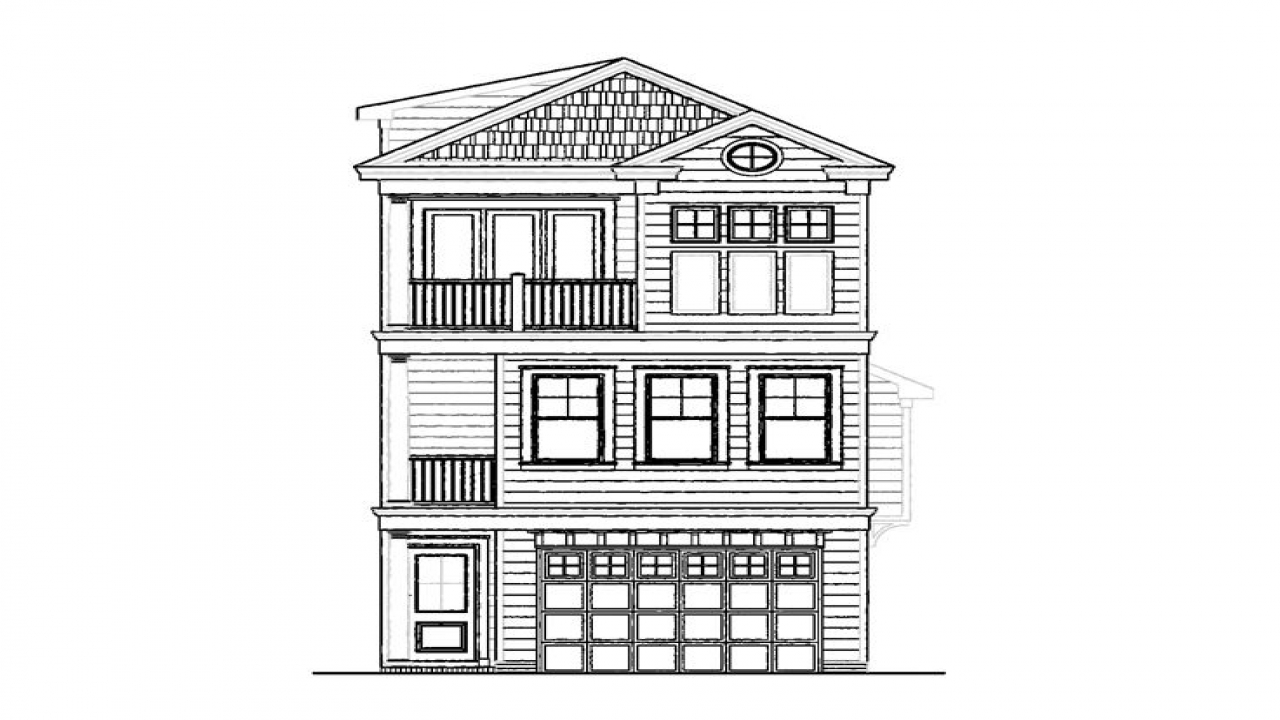 Narrow Lot House Plans 3 Story Narrow Lot House Plans For Beach Narrow Beach House Plans