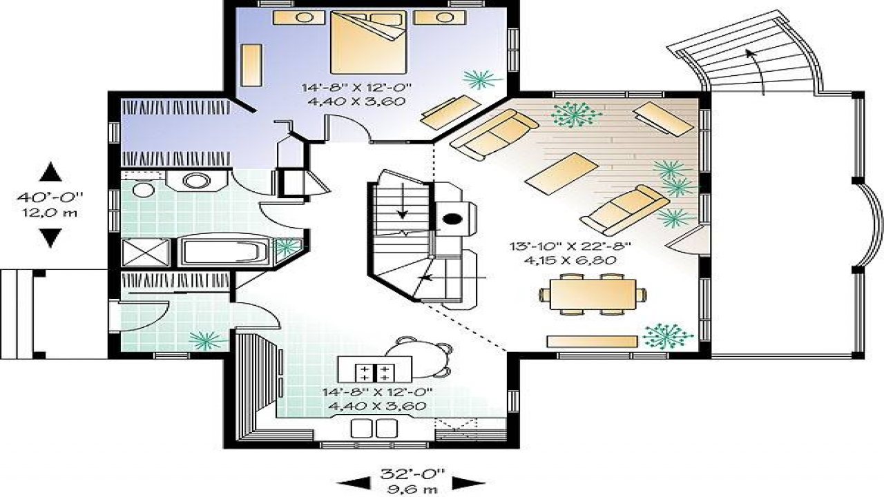One level house floor plans contemporary house plans one for One level modern house plans